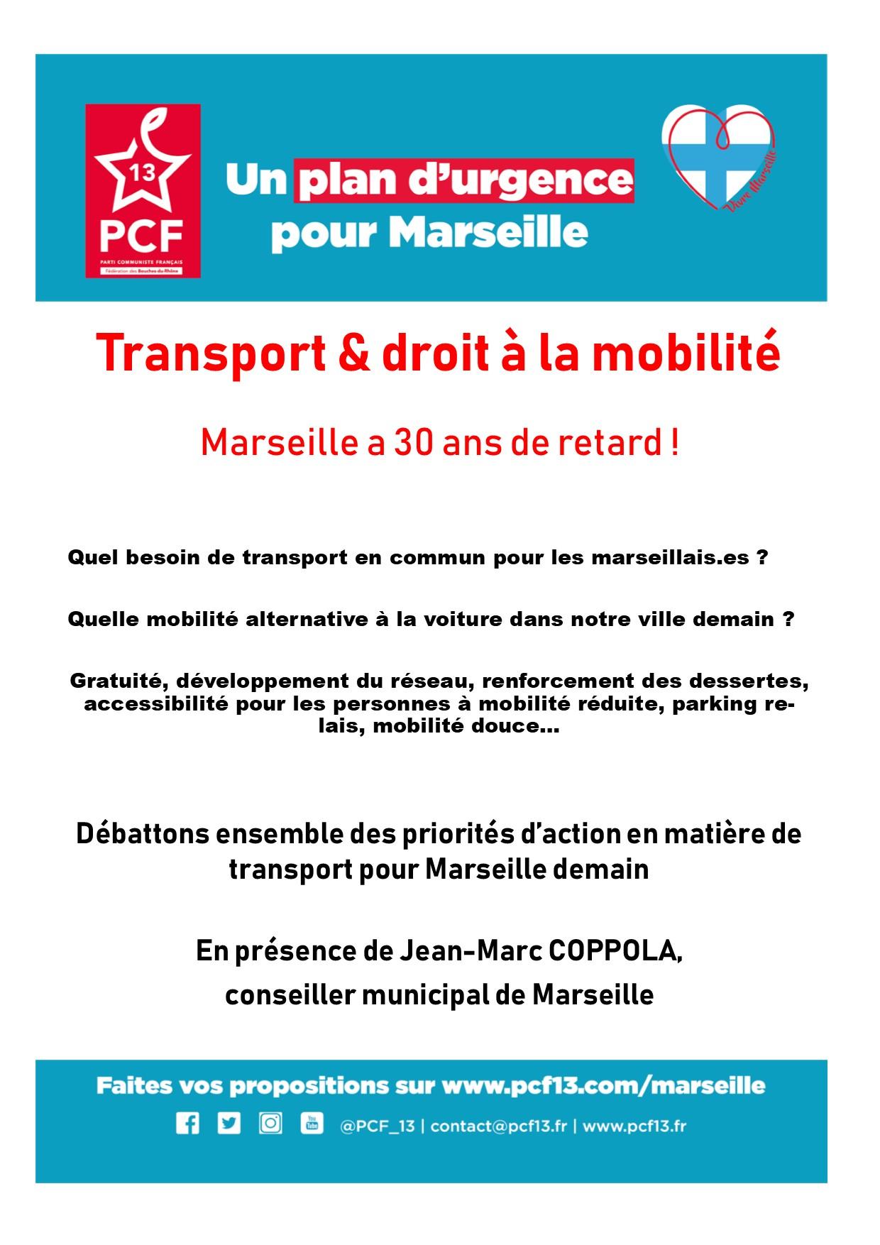 (4) Réunion sur les transports et déplacements le 20 juin à 18h00 à l'Agora Guy Hermier dans le 7èm