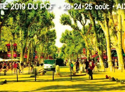 (3) Le Tour des Universités d'été 2019 – Les Communistes en réflexion à AIX en Provence