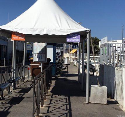 (1) Navettes Maritimes : Des aménagements trop sommaire à l'Estaque et la Pointe Rouge