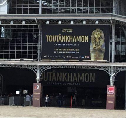 (8) Déambulation Estivale 2019 : Parc des expositions de la Villette «A la rencontre de Toutânkhamon»