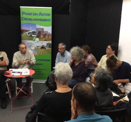 (2) Congrès du MNLE :  Réunion à guichet fermé à la Petite Edition  autour de l'ouvrage collectif «Une autre Voie pour l'Humanité» en présence d'André PRONE