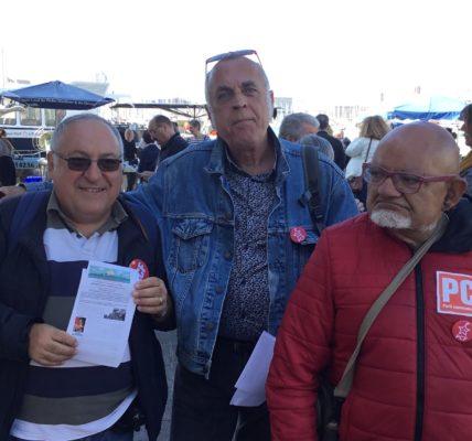 (2) Marseille 2020 : PCF pour une large Union à Marseille */ mobilisation sur le Vieux Port