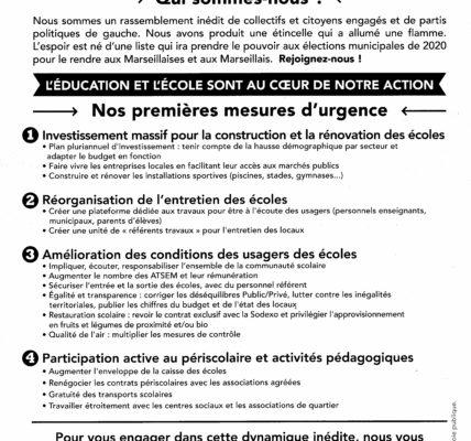 (4) Marseille 2020 : Le Printemps des Ecoles pour Marseille !
