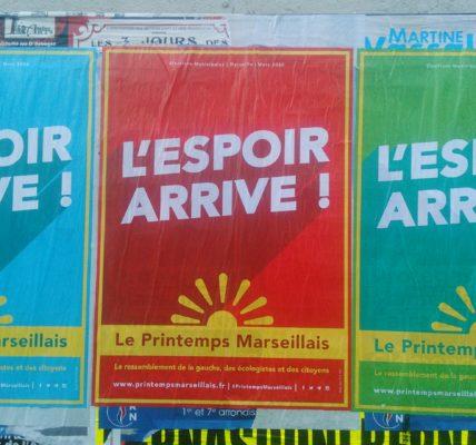 (6) Le Printemps Marseillais s'affiche en automne : l'Espoir Arrive !