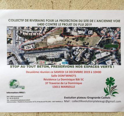 (3) Le collectif « Evolution Plateau Grognarde Caillols » ne désarme pas ! Refus du Plan Local d'Urbanisme (PLUi) qui sera présenté le 19 décembre à la métropole