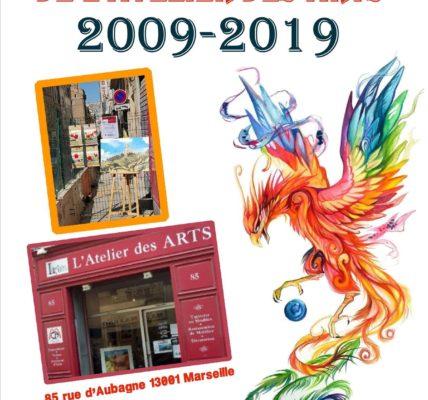 (4) Salon des Métiers d'Art : Les portes de la 13e édition se ferment , celles de l'Atelier des arts s'ouvrent. Le Phénix prend son envol !
