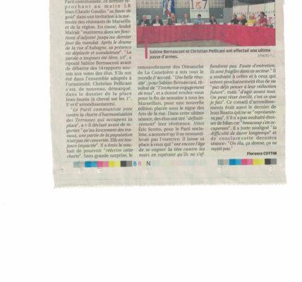 Mandature 2014 / 2020 – Dernier conseil d'arrondissement : les enseignements du drame de la rue d'Aubagne ne sont pas tirés par la majorité sortante