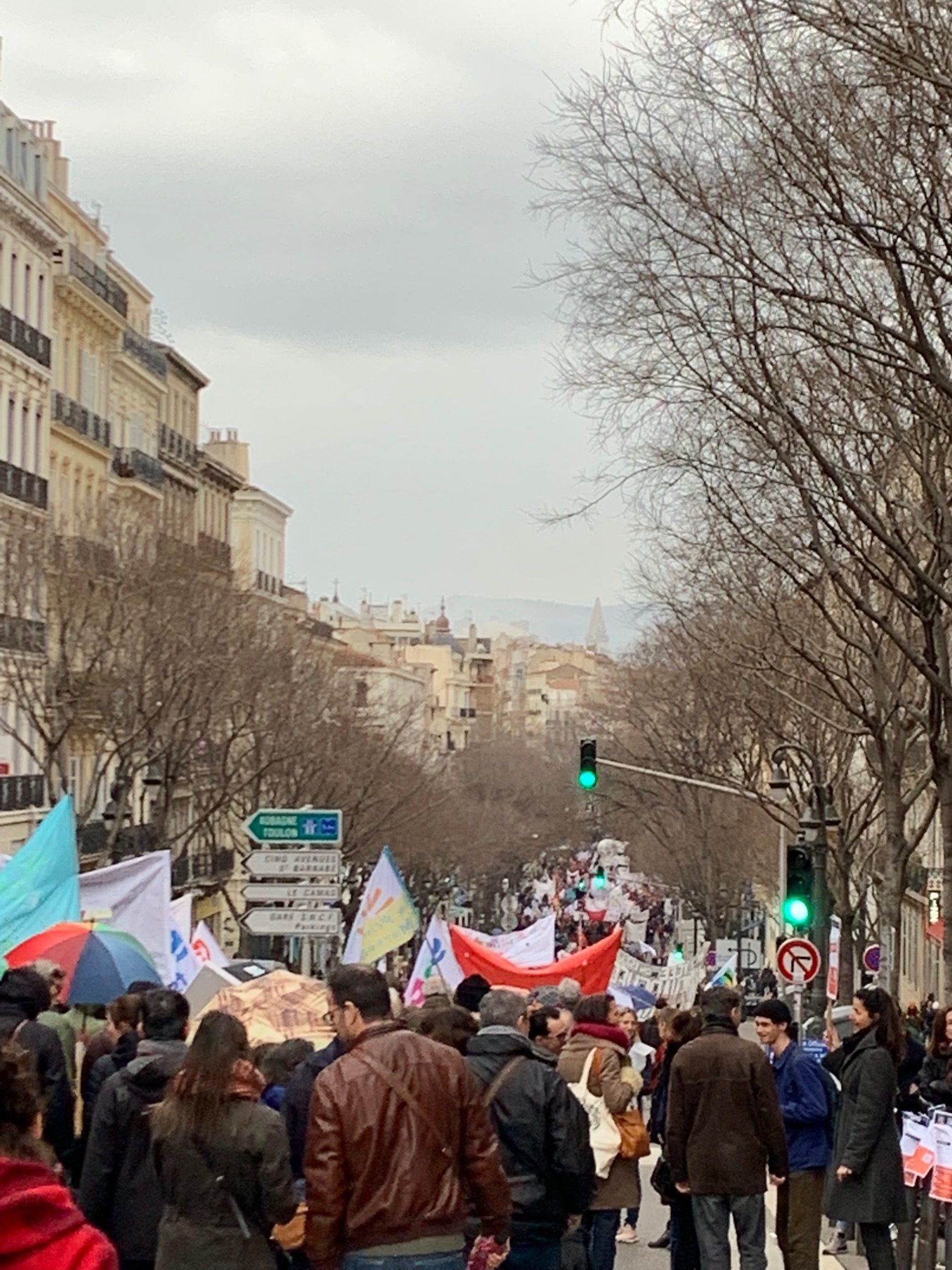 Forte mobilisation ce Vendredi 24 janvier 2020 : L'essoufflement est du côté du Gouvernement et de LaReM pour justifier la réforme des retraites