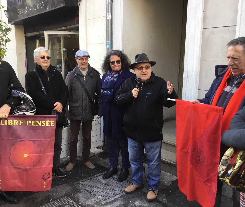 (2) Hommage à Louise Michel ce samedi devant l'Hôtel Duc Bd Dugomier 13001 Marseille