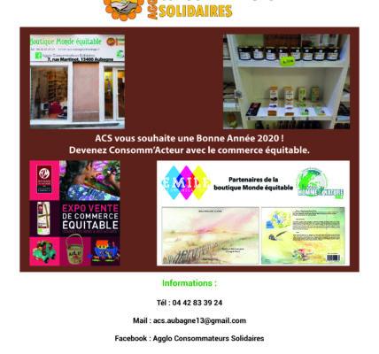 ACS : Commerce Équitable et démarche participative pour la gestion de la Boutique «Monde Équitable»