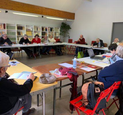 Démocratie Associative : Le MNLE Réseau Homme&Nature a réuni son conseil d'Administration à Montreuil le 5 février 2020