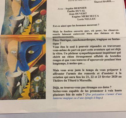 . Un coup de Cœur ! au Théâtre du Têtard : La petite édition présent «Le chien aux bretelles rouges» par Marcel Baril