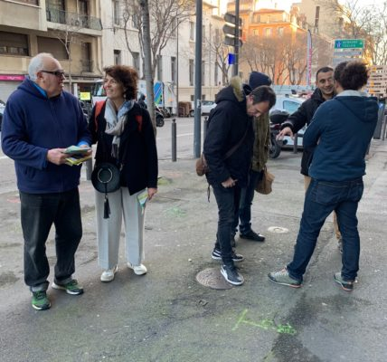 Printemps Marseillais ACTE III : Désignation des 8 tête de listes dans les secteurs et développement de la campagne