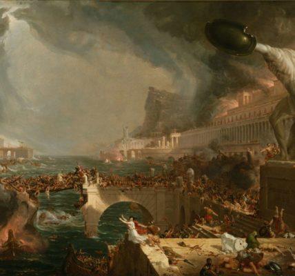 (5) Coronavirus point de vue : la chute de l'Empire romain, mettant en évidence le rôle décisif des épidémies et du changement climatique par Kyle Harper.