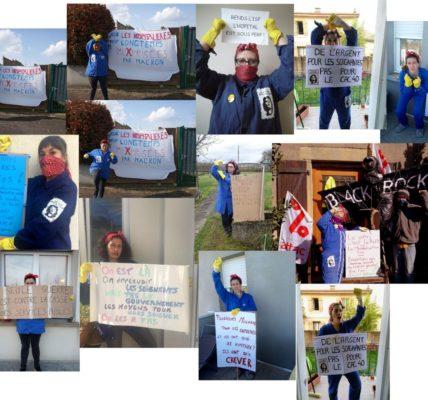 (8) Résistance à la crise sanitaire : L'atelier de banderoles et calicots