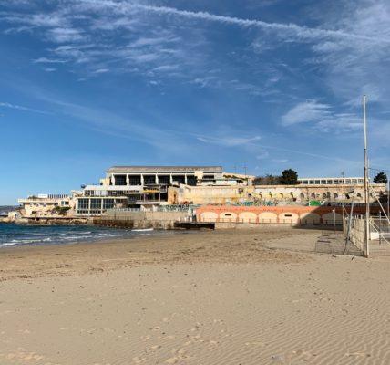 Municipale 2020 : la plage des Catalans , loi littorale, pollutions marines et atmosphériques, accès au littoral au cœur de la campagne dans le premier secteur.