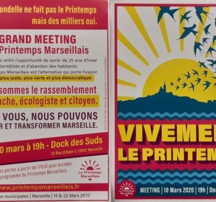 Le Printemps résiste Au COV19 et insultes des LR : La Mobilisation se poursuit et le quadrillage du secteur s'organise