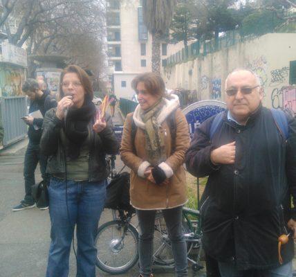 Printemps Marseillais : Déambulation de la Corderie à la Villa Valmer pour dénoncer la Braderie de la municipalité Gaudin/Vassal