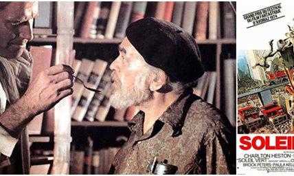 (22) Résistance à la crise sanitaire : La lecture, le cinéma pour nourrir nos réflexions sur un autre monde –  Soleil vert, 40 ans après : un futur toujours aussi condamné ? –