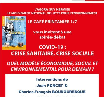 (22) Coronavirus point de vue : 1er Rencontre débat organisée par le MNLE réseau Homme&Nature sur – COVID-19 crise sanitaire, crise sociale et économique –