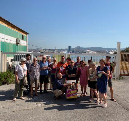 (15) Municipales 2e tour : Fin de campagne marathon dans le 7em – Pharo Catalan – Anse du Pharo – Quartier St Lambert et clôture rue Beauvau