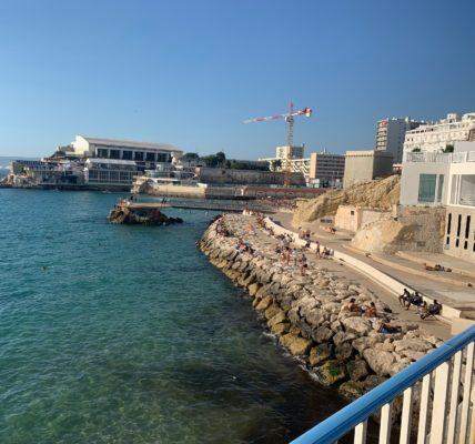 (2) Déambulations Estivales 2020 : Prendre le large,  marcher  au bord de mer – prendre le temps ! l'ordinaire Marseillais –