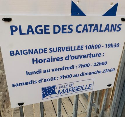 (2) Plage des Catalans : Réussite de l'ouverture de la plage jusqu'à 22h00 – et – Non stop du samedi 7h00 du matin  au dimanche