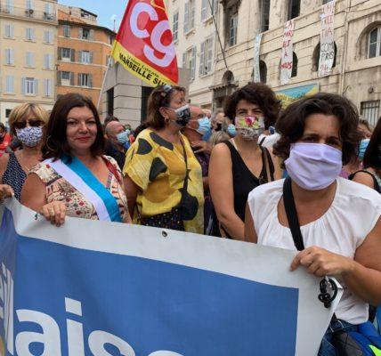 La Marseillaise : Toutes et tous mobilisés pour dire non aux prédateurs  –  Oui au pluralisme de la presse.
