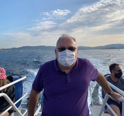 (16) Marseille mandature 2020/2026 : 1er Secteur – Samedi 12 septembre 2020 en longeant la côte, on traverse la rade : cap sur l'Archipel du Frioul – Rencontre avec les commerçants, des artistes et les habitants – retour sur le Vieux Port au milieu des «Gilets Jaunes»