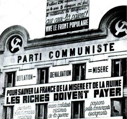 (4) 100 ans : Le 30 décembre 1920 la majorité du 18 congrès de la Section française de l'Internationale ouvrière (SFIO) vote la création de la Section française de l'internationale Communiste (SFIC) qui deviendra le PCF