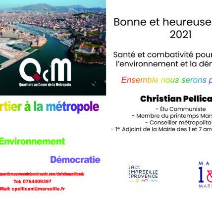 Bonne et heureuse année 2021 – Santé et combativité – Social – Environnement & Démocratie –