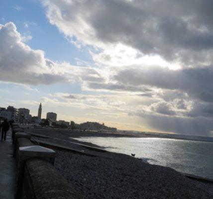 (2) Déambulations Hivernales 2020/2021 : 2 photos du Havre prises le 31/12 vers 11h30 – Envoi par le réseau Homme&Nature  –