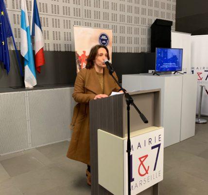 Inauguration de l'Exposition SOS Méditerranée par Benoit PAYAN à la Mairie de secteur sur la Canebière :  La Ville de Marseille précise son soutien à SOS Méditerranée et lui dédie une exposition