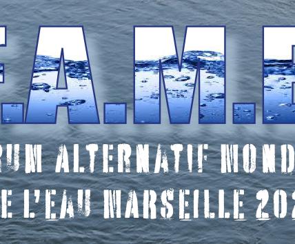FAME 2021 Marseille J- 18  : Lancement officiel du Forum à l'occasion de la journée Mondiale de l'EAU le 22 mars 2021 –