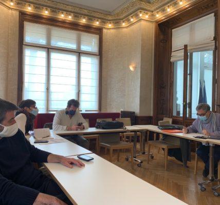 (38) Marseille mandature 2020/2026 : Echanges d'expériences entre adjoints du PM à la démocratie participative et à la citoyenneté à la Mairie des 6e et 8e arrondissements