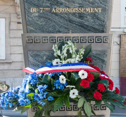8 Mai 1945 – 2021 : Hommage place st Eugène à celles et ceux qui par leurs sacrifices nous ont rendu nos libertés et la PAIX !