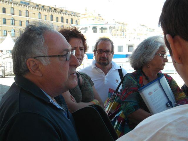 Batobus : Mobilisation pendant l'été avec LES ELUS-ES FRONT DE GAUCHE de MARSEILLE