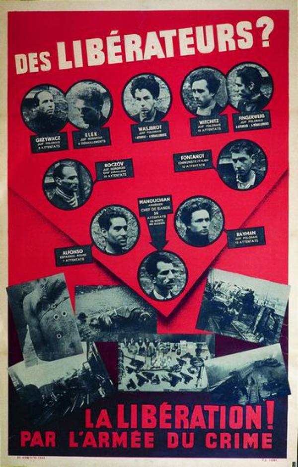 Marseille : commémoration de l'exécution du groupe Missak Manouchian