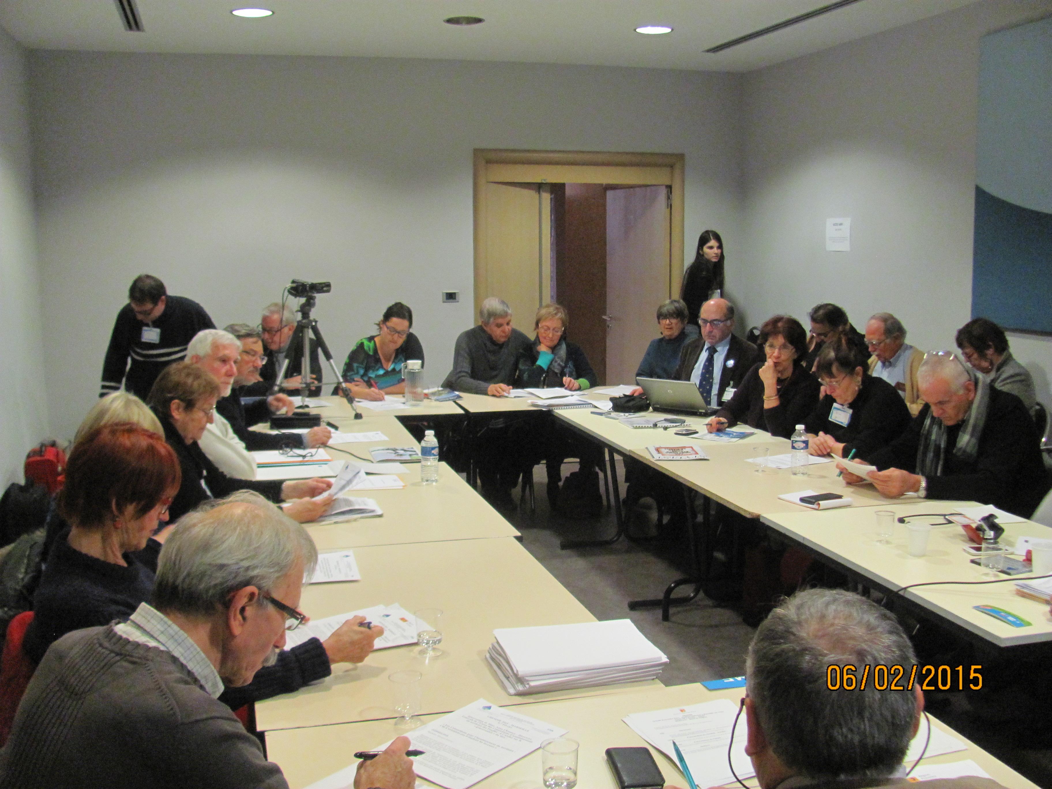 (4) GREMME :  les débats investissent l'hôtel de la région !