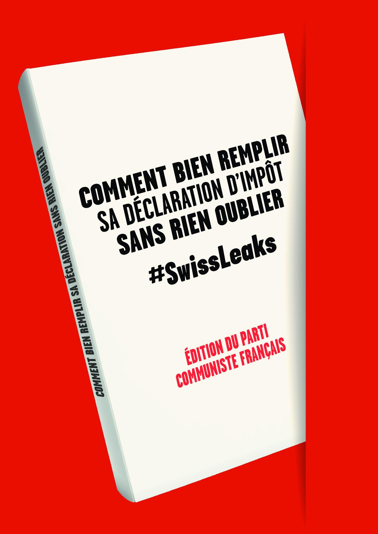 #Swissleaks : Pierre Laurent écrit aux personnalités françaises mentionnées sur la liste HSBC
