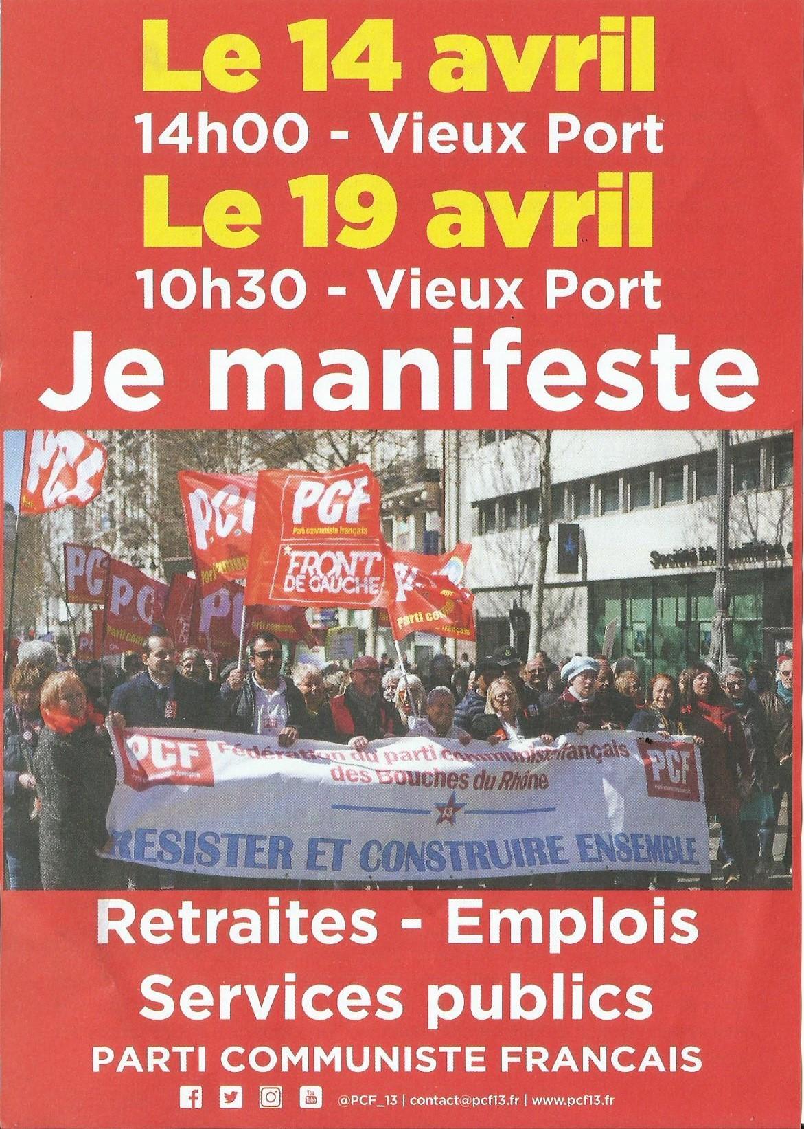 Mobilisations : Retraites-Emplois-Services Publics