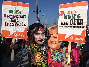 CETA : Agriculture, territoires et sécurité alimentaire en danger !