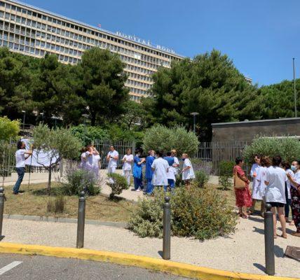 (13) Municipales 2e tour :  Les hôpitaux au menu des colistiers de Jean Marc COPPOLA  –   Fabien ROUSSEL apporte son soutien à la liste RUBIROLA à Marseille et COPPOLA dans les quartiers Nord.