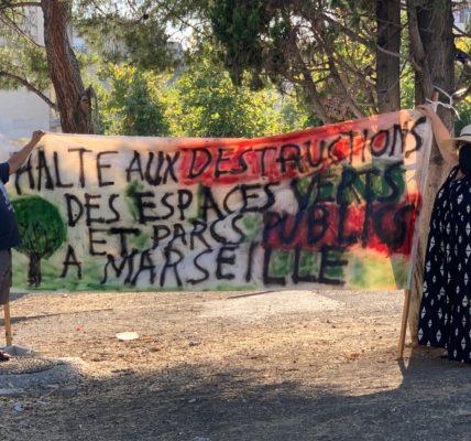 Marseille – Michèle Rubirola : «La destruction de l'espace vert de la Porte d'Aix n'est pas acceptable» – le vent du printemps souffle sur Marseille !