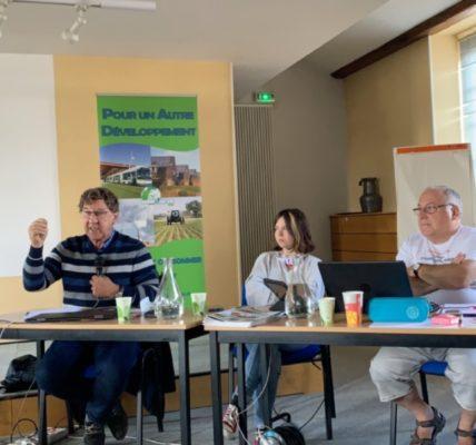 (3) 25e Université d'été du MNLE – NEVERS 2020 – Conférence de Philippe COLLIN » La Terre Nourricière»