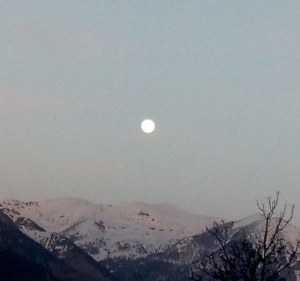 (8) Déambulations Hivernales 2020/2021 : Coup de lune sur le Mercantour !