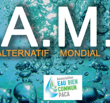 """(3) FAME 2021 Marseille : """"Penser l'eau comme un bien commun"""" – Lancement du Forum  –"""