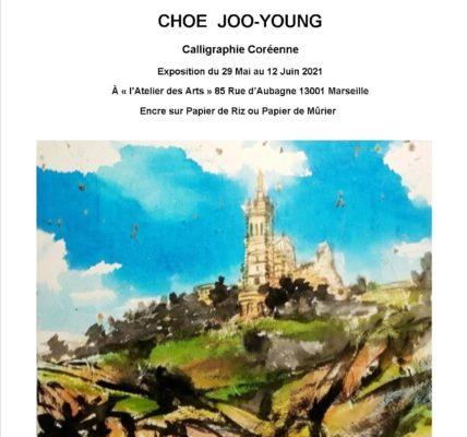 Atelier des ARTS – 85 rue d'Aubagne -13001 Marseille – Vernissage en Direct de Corée en visioconférence – Intervention de Choé Joo-Young