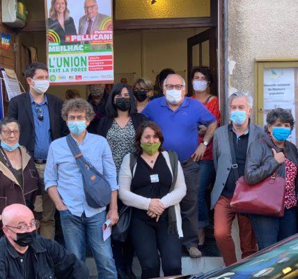 #Canton12 : Sophie CAMARD, Maire du 1er secteur apporte son soutien au Binôme Anne Meilhac et Christian Pellicani