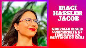CHILIE : Irací Hassler est élue en mai 2021 maire de la capitale du pays, Santiago.